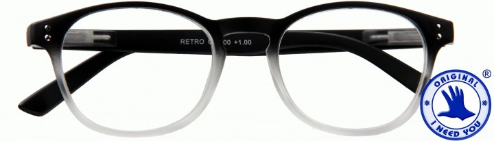 I NEED YOU Lesebrille RETRO