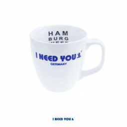 I NEED YOU Tasse mit Sehtest
