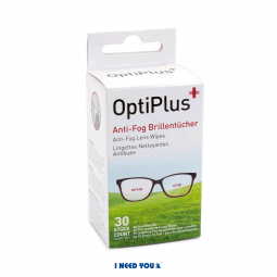 Optiplus Anti-Fog Brillentücher